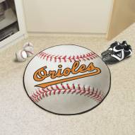 Baltimore Orioles Baseball Rug
