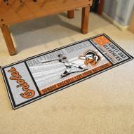 Baltimore Orioles Ticket Runner Rug