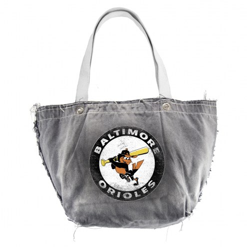 Baltimore Orioles Retro Vintage Tote Bag