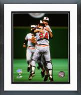 Baltimore Orioles Rick Dempsey 1983 World Series Framed Photo