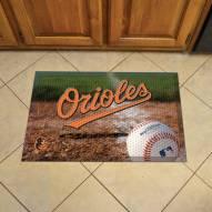 Baltimore Orioles Scraper Door Mat