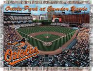 Baltimore Orioles Stadium Throw Blanket