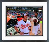 Baltimore Orioles Steve Pearce Action Framed Photo