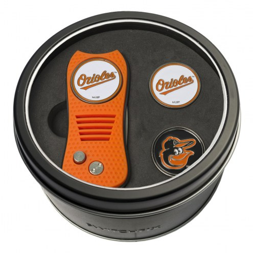 Baltimore Orioles Switchfix Golf Divot Tool & Ball Markers