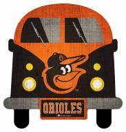 Baltimore Orioles Team Bus Sign