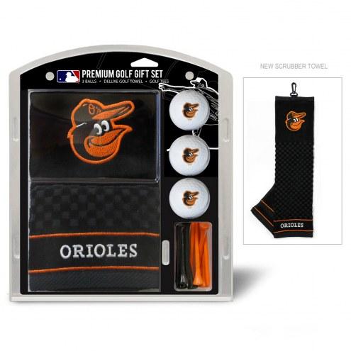 Baltimore Orioles Golf Gift Set