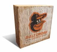 Baltimore Orioles Team Logo Block