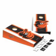 Baltimore Orioles Mini Cornhole Set