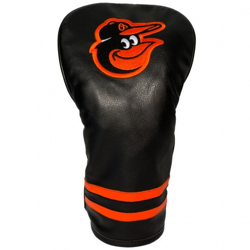 Baltimore Orioles Vintage Golf Driver Headcover