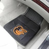 Baltimore Orioles Vinyl 2-Piece Car Floor Mats