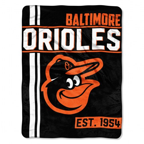 Baltimore Orioles Walk Off Throw Blanket