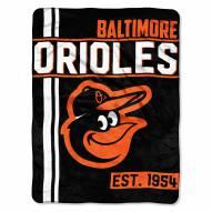 Baltimore Orioles Walk Off Throw Blanket