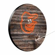 Baltimore Orioles Weathered Design Hook & Ring Game