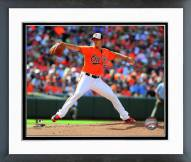 Baltimore Orioles Wei-Yin Chen Action Framed Photo