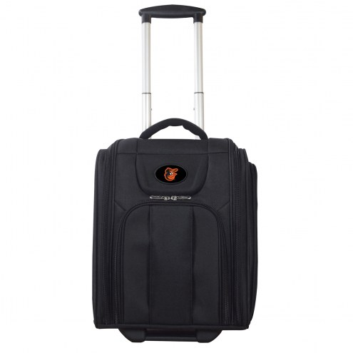 Baltimore Orioles Wheeled Business Tote Laptop Bag