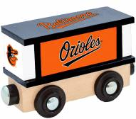 Baltimore Orioles Wood Box Car Train