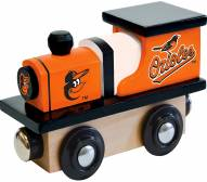 Baltimore Orioles Wood Toy Train