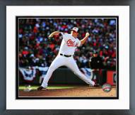 Baltimore Orioles Zach Britton Action Framed Photo