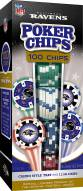 Baltimore Ravens 100 Piece Poker Chips