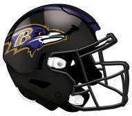 "Baltimore Ravens 12"" Helmet Sign"