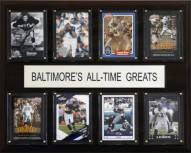 """Baltimore Ravens 12"""" x 15"""" All-Time Greats Plaque"""
