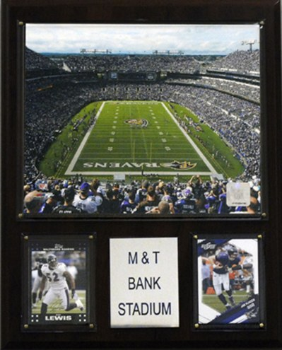 "Baltimore Ravens 12"" x 15"" Stadium Plaque"