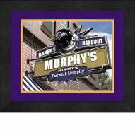 Baltimore Ravens 13 x 16 Personalized Framed Sports Pub Print