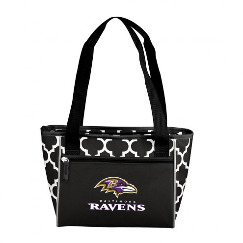 Baltimore Ravens 16 Can Cooler Tote