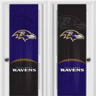 Baltimore Ravens 2 Sided Door Wrap