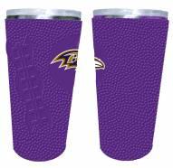 Baltimore Ravens 20 oz. Stainless Steel Tumbler with Silicone Wrap