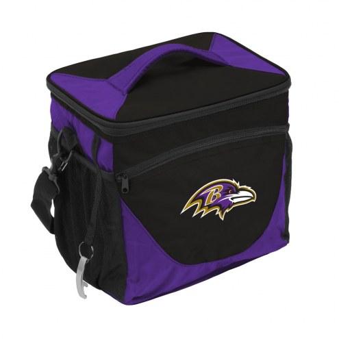 Baltimore Ravens 24 Can Cooler
