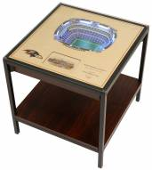 Baltimore Ravens 25-Layer StadiumViews Lighted End Table