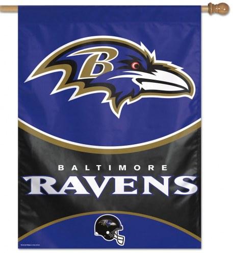 "Baltimore Ravens 27"" x 37"" Banner"