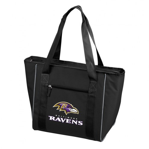 Baltimore Ravens 30 Can Cooler Tote Bag