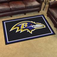 Baltimore Ravens 4' x 6' Area Rug