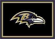 Baltimore Ravens 4' x 6' NFL Team Spirit Area Rug
