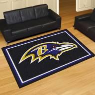 Baltimore Ravens 5' x 8' Area Rug