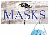 "Baltimore Ravens 6"" x 12"" Mask Holder"