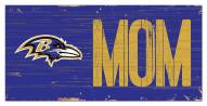 "Baltimore Ravens 6"" x 12"" Mom Sign"