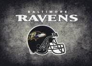 Baltimore Ravens 6' x 8' NFL Distressed Area Rug