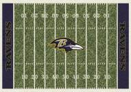 Baltimore Ravens 6' x 8' NFL Home Field Area Rug