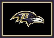 Baltimore Ravens 6' x 8' NFL Team Spirit Area Rug