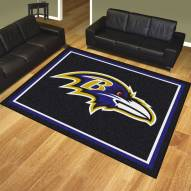 Baltimore Ravens 8' x 10' Area Rug