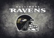 Baltimore Ravens 8' x 11' NFL Distressed Area Rug