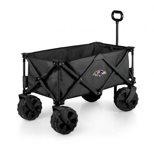 Baltimore Ravens Adventure Wagon with All-Terrain Wheels