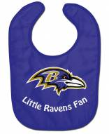 Baltimore Ravens All Pro Little Fan Baby Bib