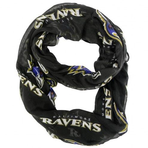 Baltimore Ravens Alternate Sheer Infinity Scarf