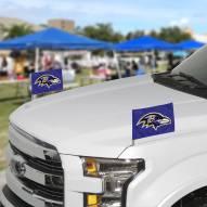 Baltimore Ravens Ambassador Car Flags