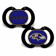 Baltimore Ravens Baby Pacifier 2-Pack