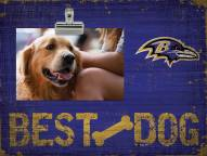 Baltimore Ravens Best Dog Clip Frame